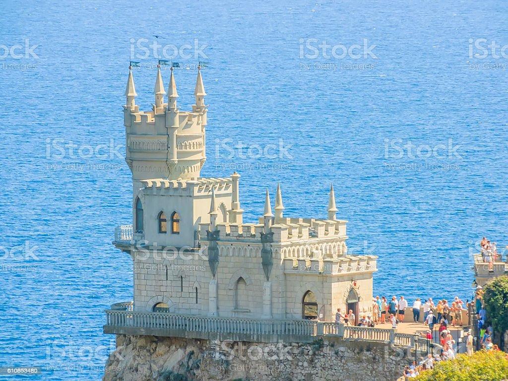 Crimea. Castle 'Swallow's Nest' стоковое фото