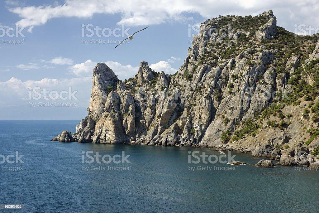 Crimea coast royalty-free stock photo