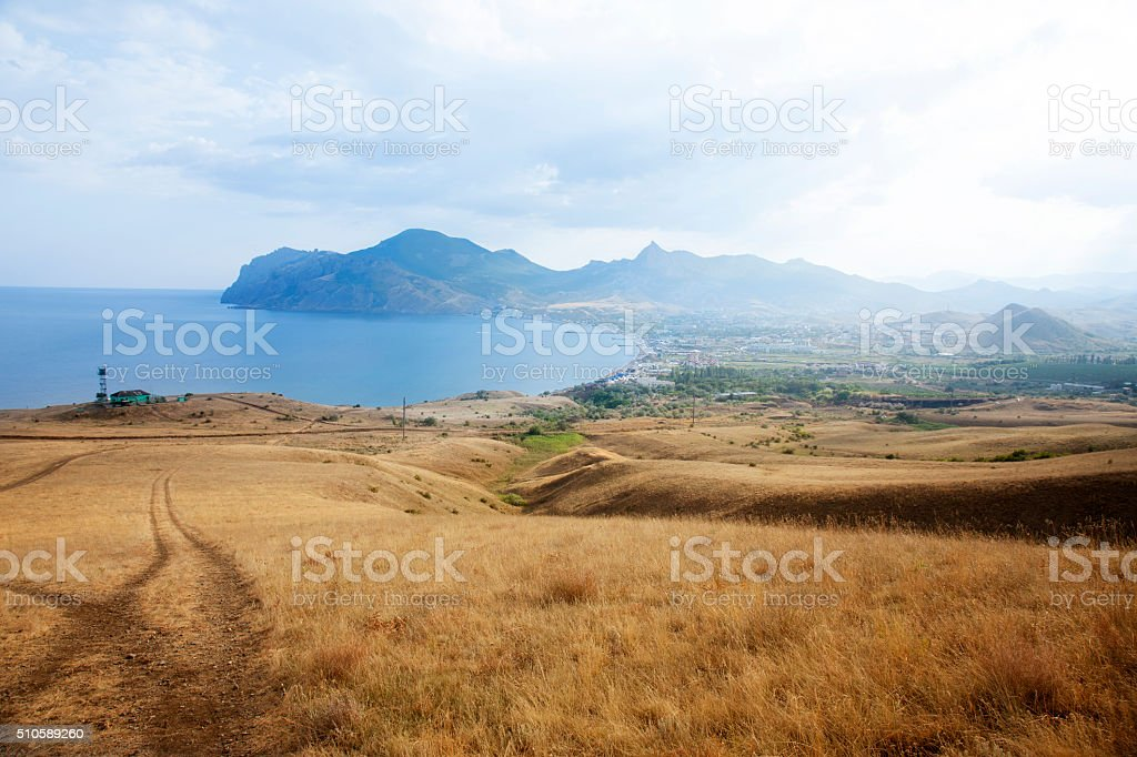 Crimea. Koktebel. stock photo