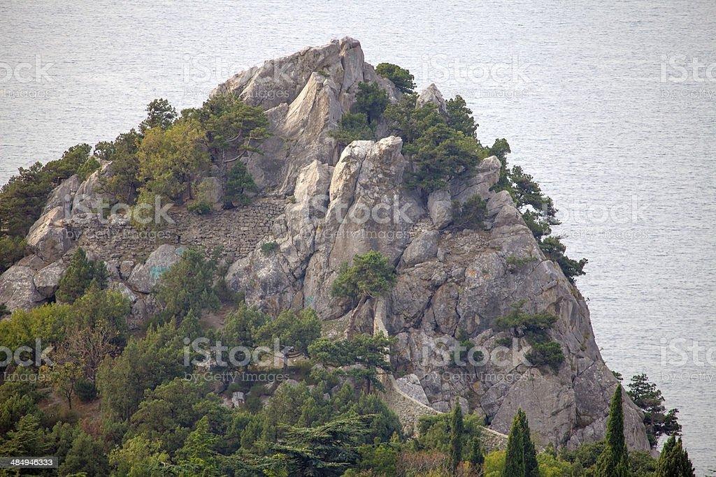 Crimean coast. stock photo