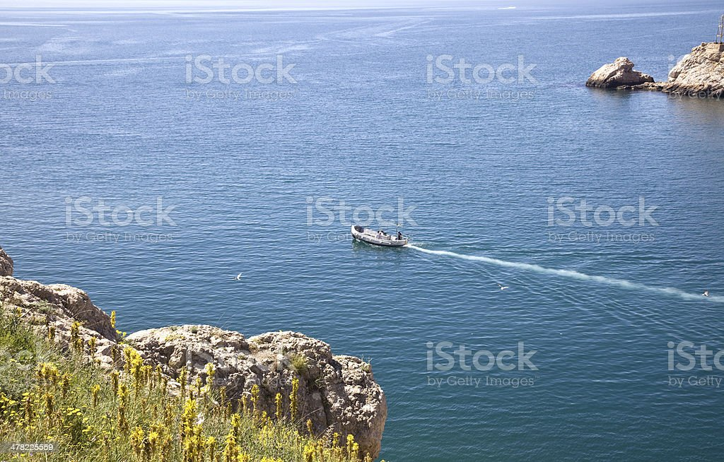 Crimean landscape stock photo