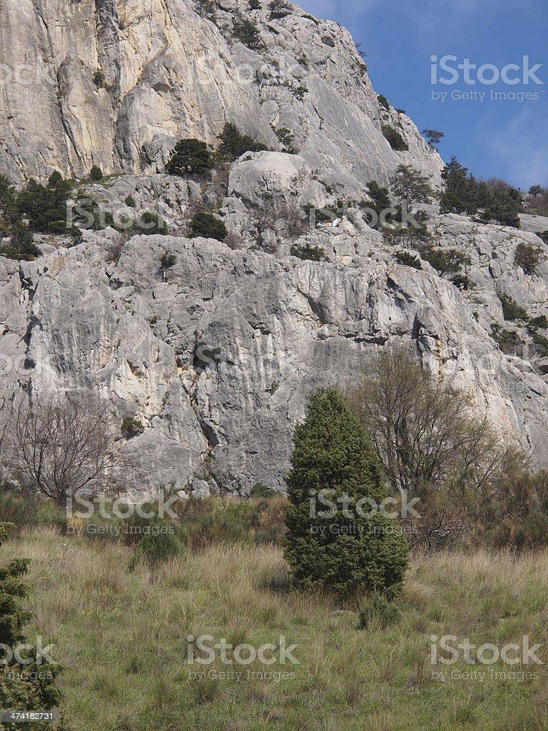 Crimean rock royalty-free stock photo