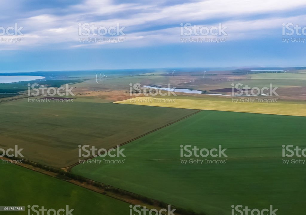 Crimean rural landscape. royalty-free stock photo