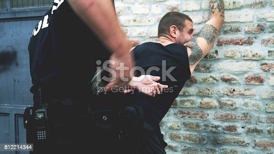 istock Criminal arrest 812214344