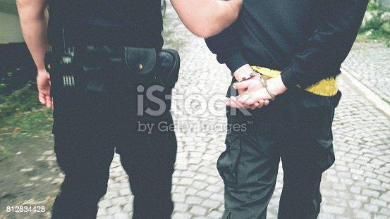 istock Criminal arrest 812834428
