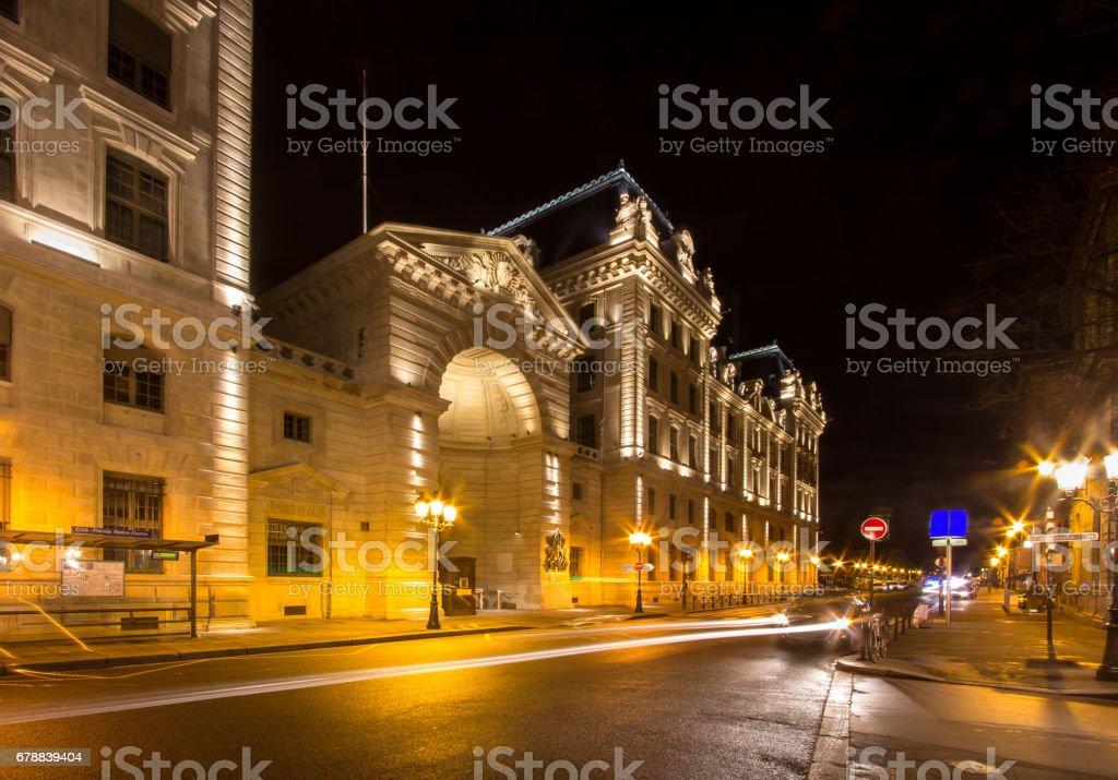 Criminal court (Tribunal correctionnel), Paris, France stock photo