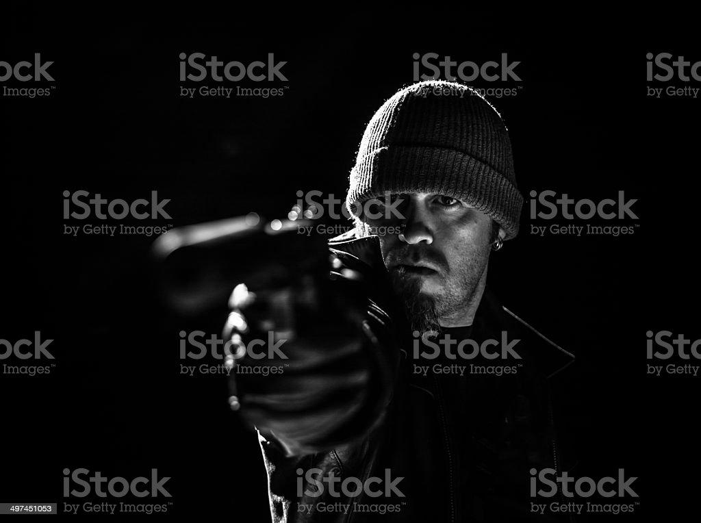 Criminal Minded stock photo
