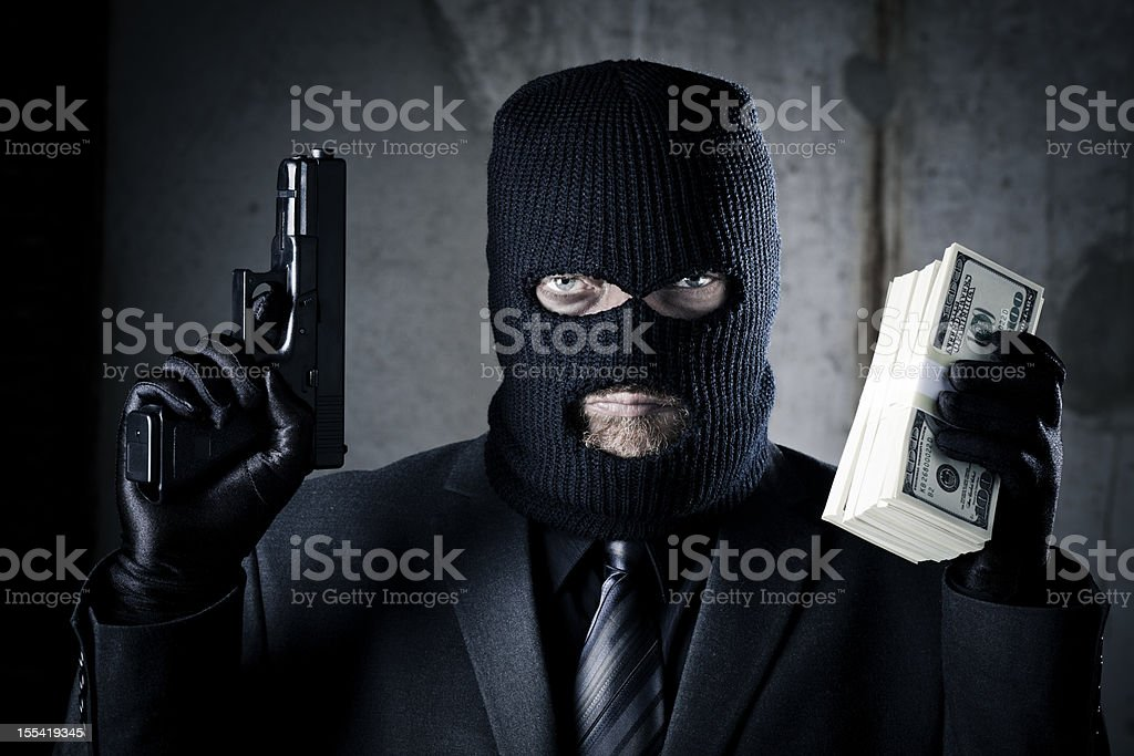 Criminal stock photo