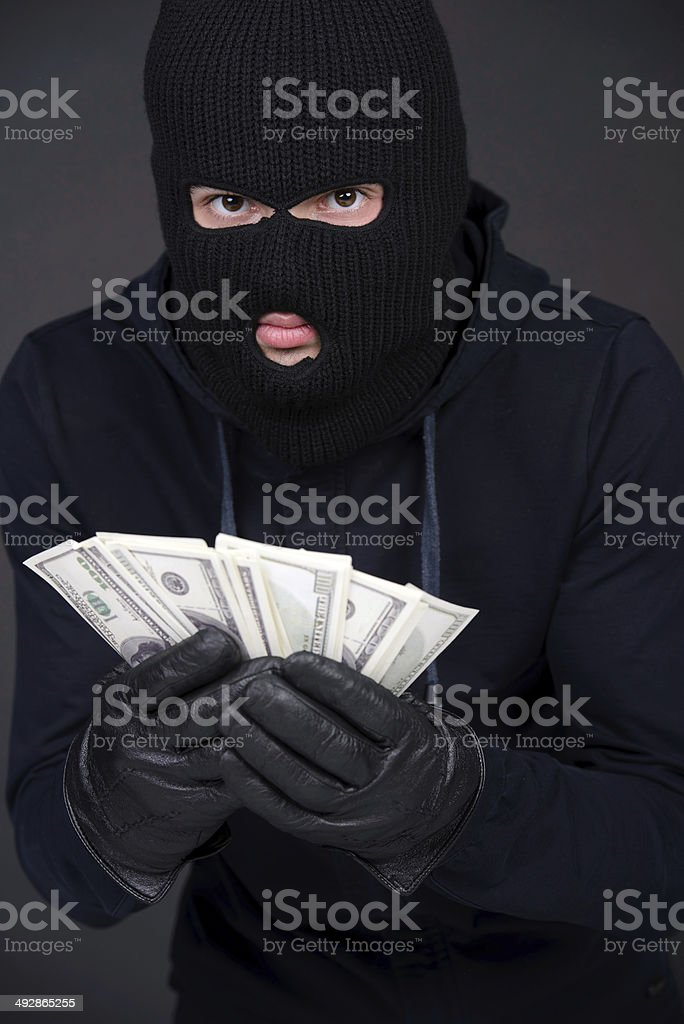 Criminality stock photo