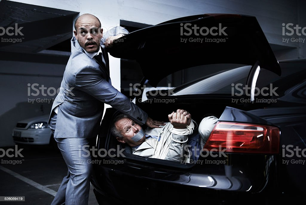 Verbrecher in Aktion – Foto