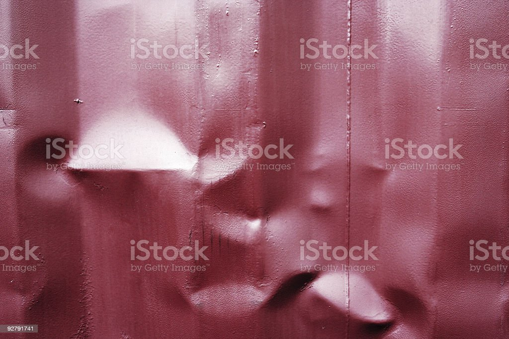 Crinkeled Metal Texture royalty-free stock photo