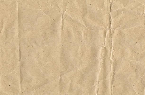 종이 crinkled brown - 주름 뉴스 사진 이미지