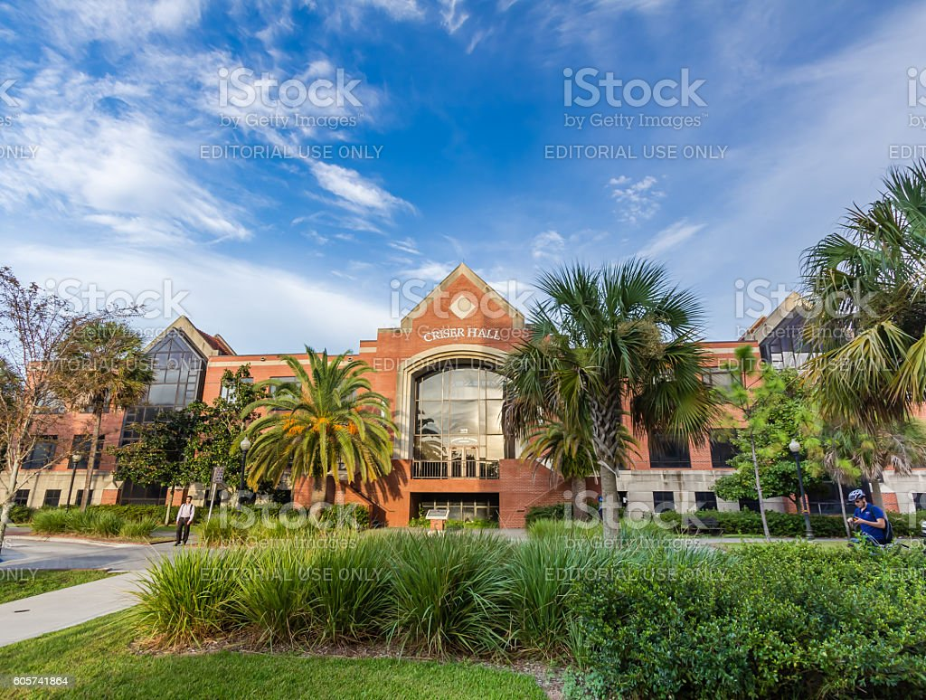 Criser Hall at the University of Florida stock photo