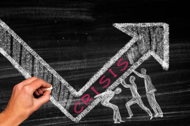 krisenmanagement, teamwork-konzept - inflation stock-fotos und bilder