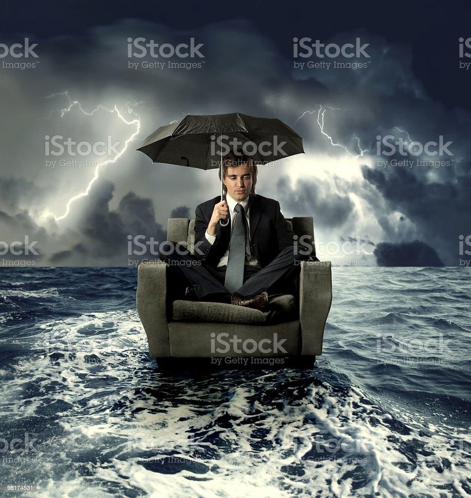 crisis royalty-free stock photo