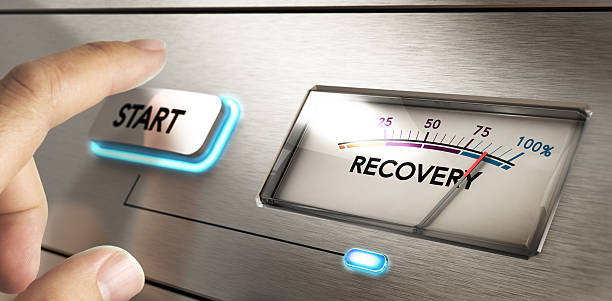 Crisis Recovery Concept stock photo
