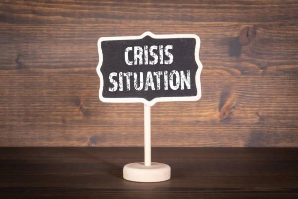 Krisensituation. Quarantäne, Virus-Verbreitung und Notfallkonzept – Foto