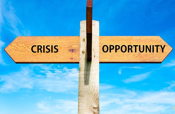 Krise im Vergleich Gelegenheit – Foto