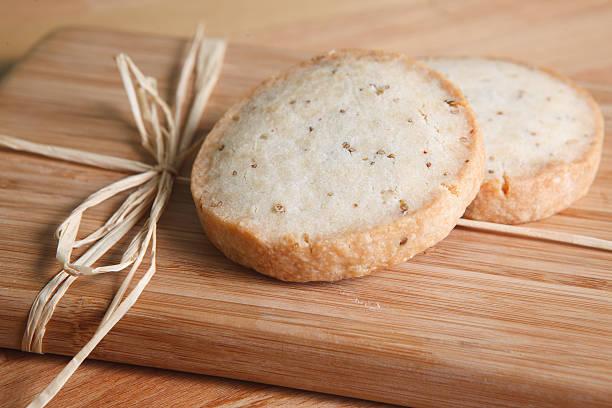 Crisp Anise Cookies stock photo