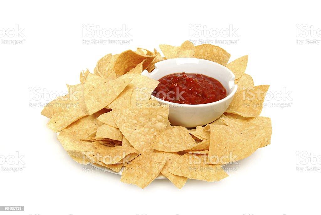 crisp chips royalty-free stock photo