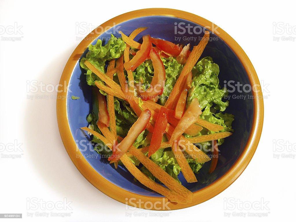 Crisp Garden Salad royalty-free stock photo