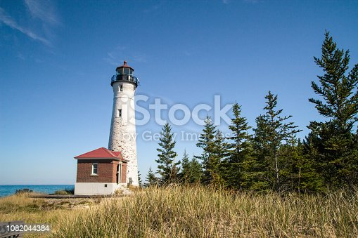 627263082istockphoto Crisp Point Lighthouse On The Remote Shores Of Lake Superior 1082044384