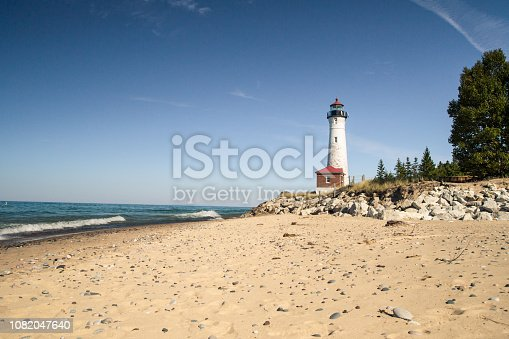 627263082istockphoto Crisp Point Lighthouse On The Remote Shores Of Lake Superior 1082047640