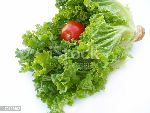 Crisp Romain Lettuce and tomatoALSO SEE: