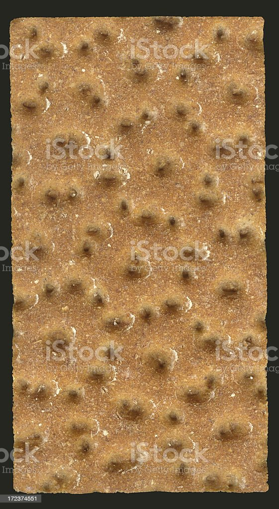 Crispbread, isolated on black. XXL stock photo