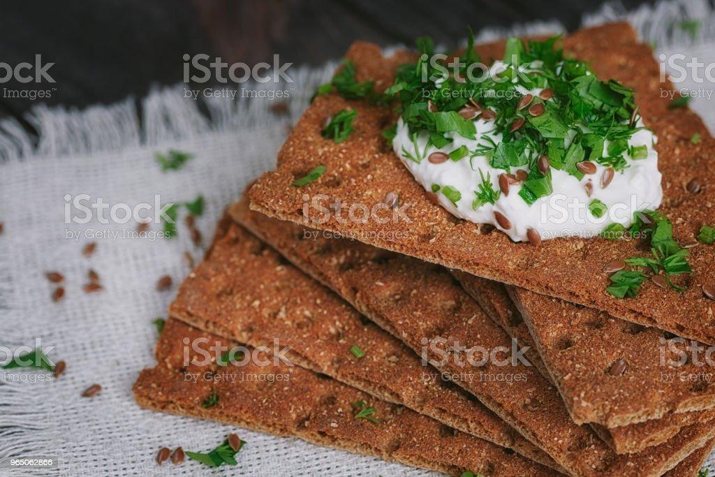 crispbread zbiór zdjęć royalty-free