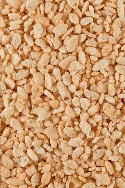 arroz crisped cereais - estaladiço imagens e fotografias de stock
