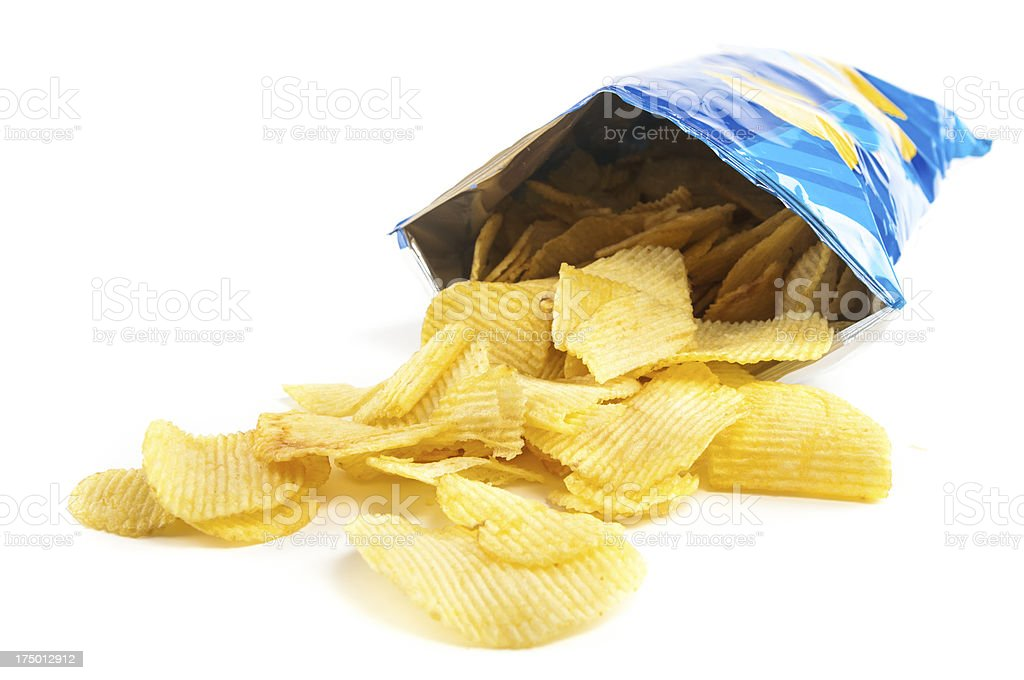 crisps stock photo