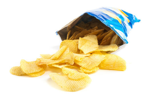 Crisps 照片檔及更多 不健康飲食 照片