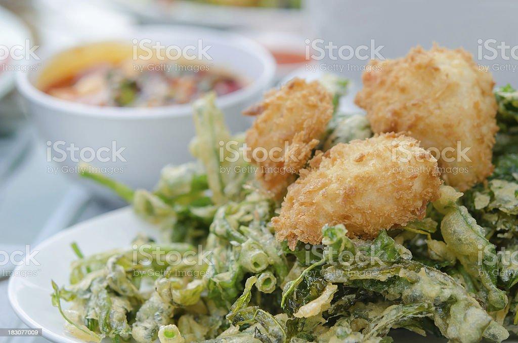 crispy asian food royalty-free stock photo