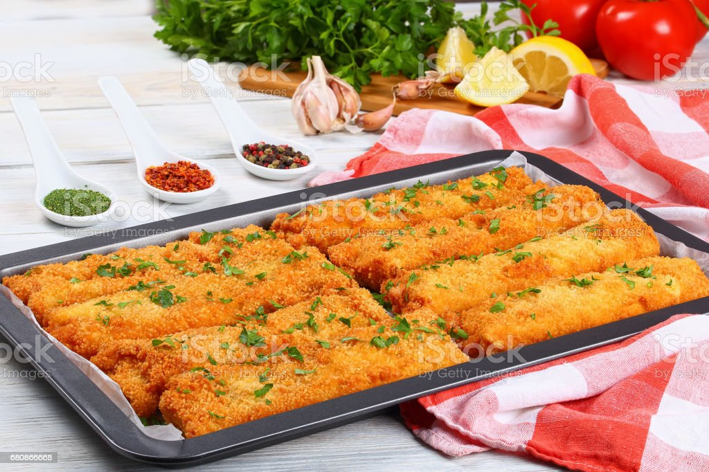 Crispy Chicken and cheese Tortilla Roll Ups royalty-free stock photo