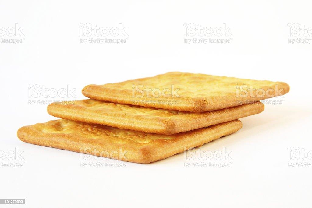 Crispy crackers royalty-free stock photo