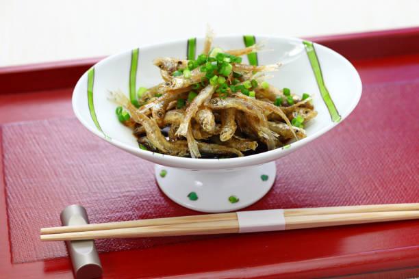 crispy fried whitebait, japanese style