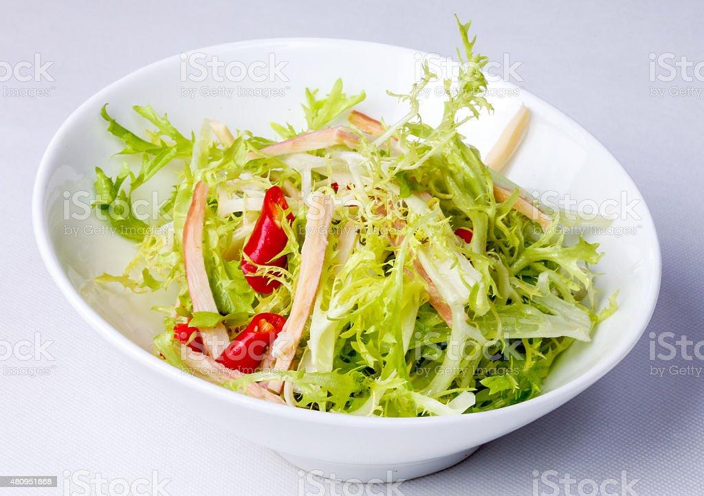 Crispy Salad stock photo