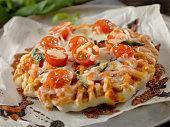 Crispy Waffle, Margharita pizza