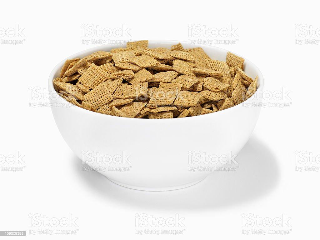 Crispy Whole Grain Breakfast Cereal stock photo