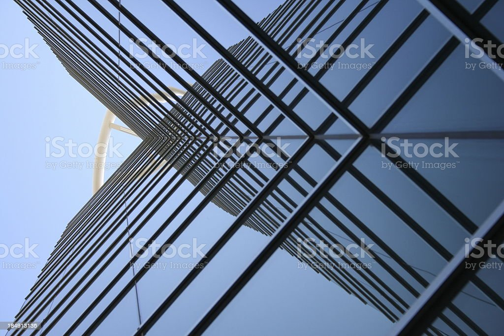 Criss Cross stock photo