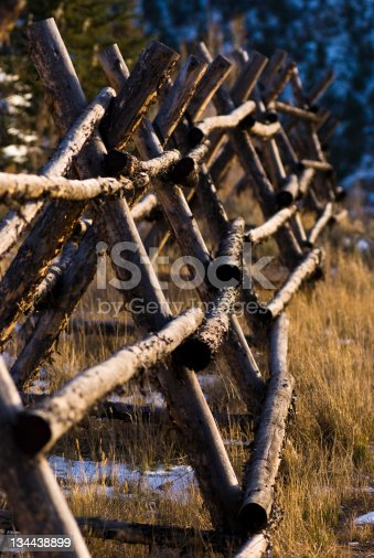 Criss cross wood fence stock photo more pictures of