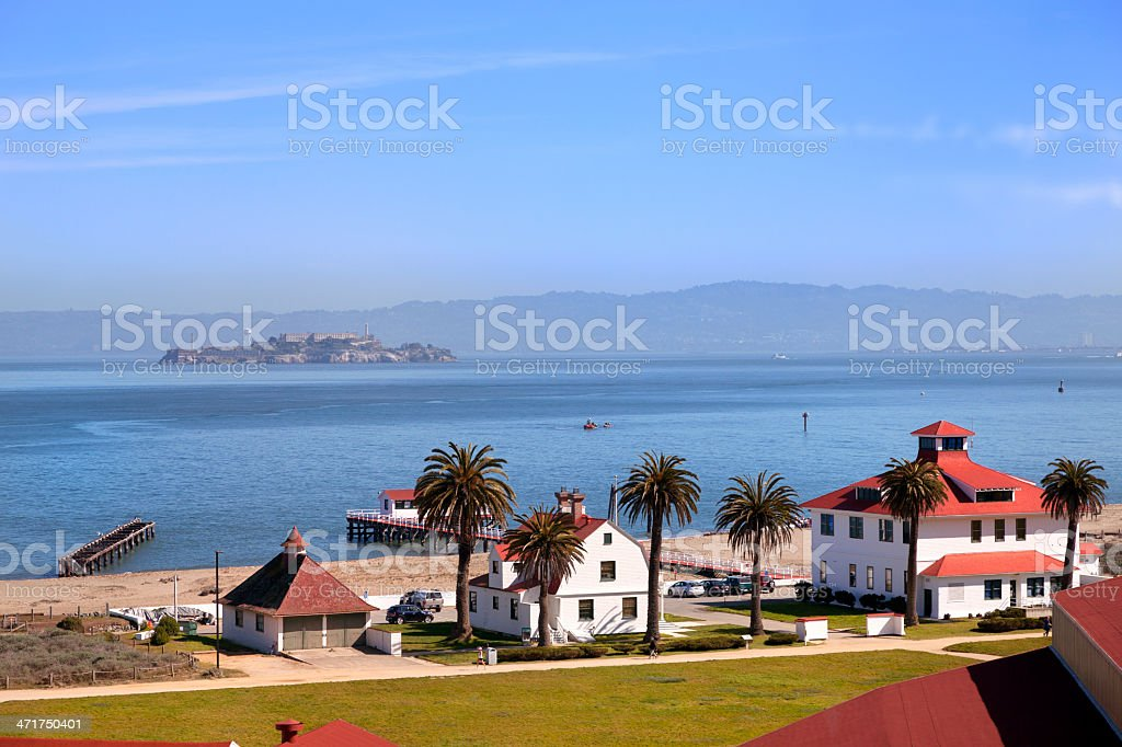Crissy Field historical site stock photo