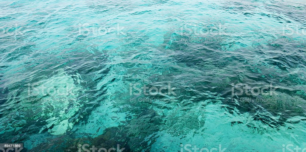 Cristal Clear Water royalty-free stock photo