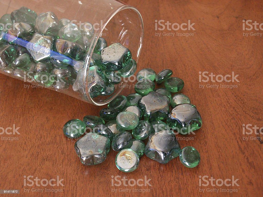 Cristales royalty-free stock photo