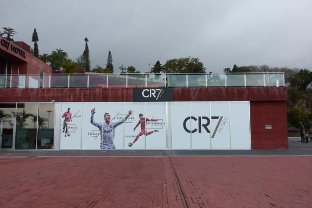 cr7 cristiano ronaldo museum in funchal, madeira - ronaldo imagens e fotografias de stock
