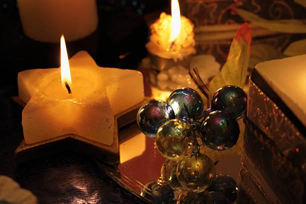 Cristmas elegant ornament stock photo