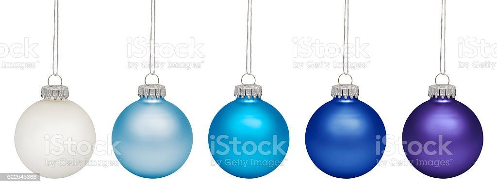 Cristmas Ornament isolated on white background stock photo