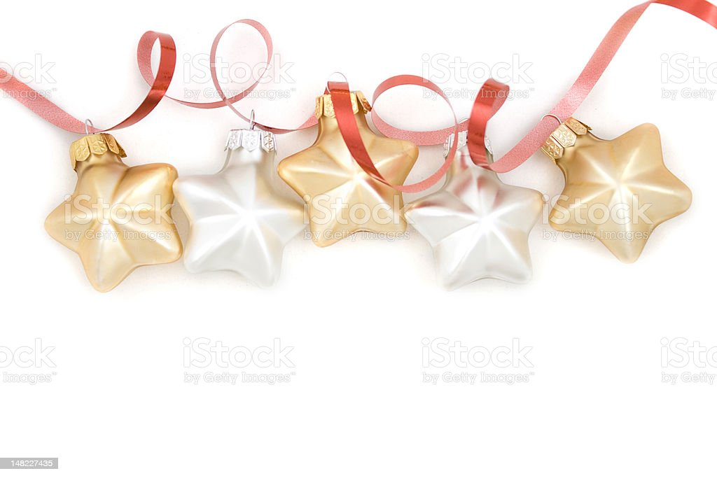 cristmas star stock photo
