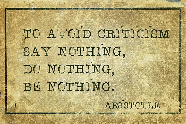 criticism print stock photo